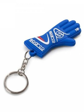 Sparco Keychain Sparco glove blue
