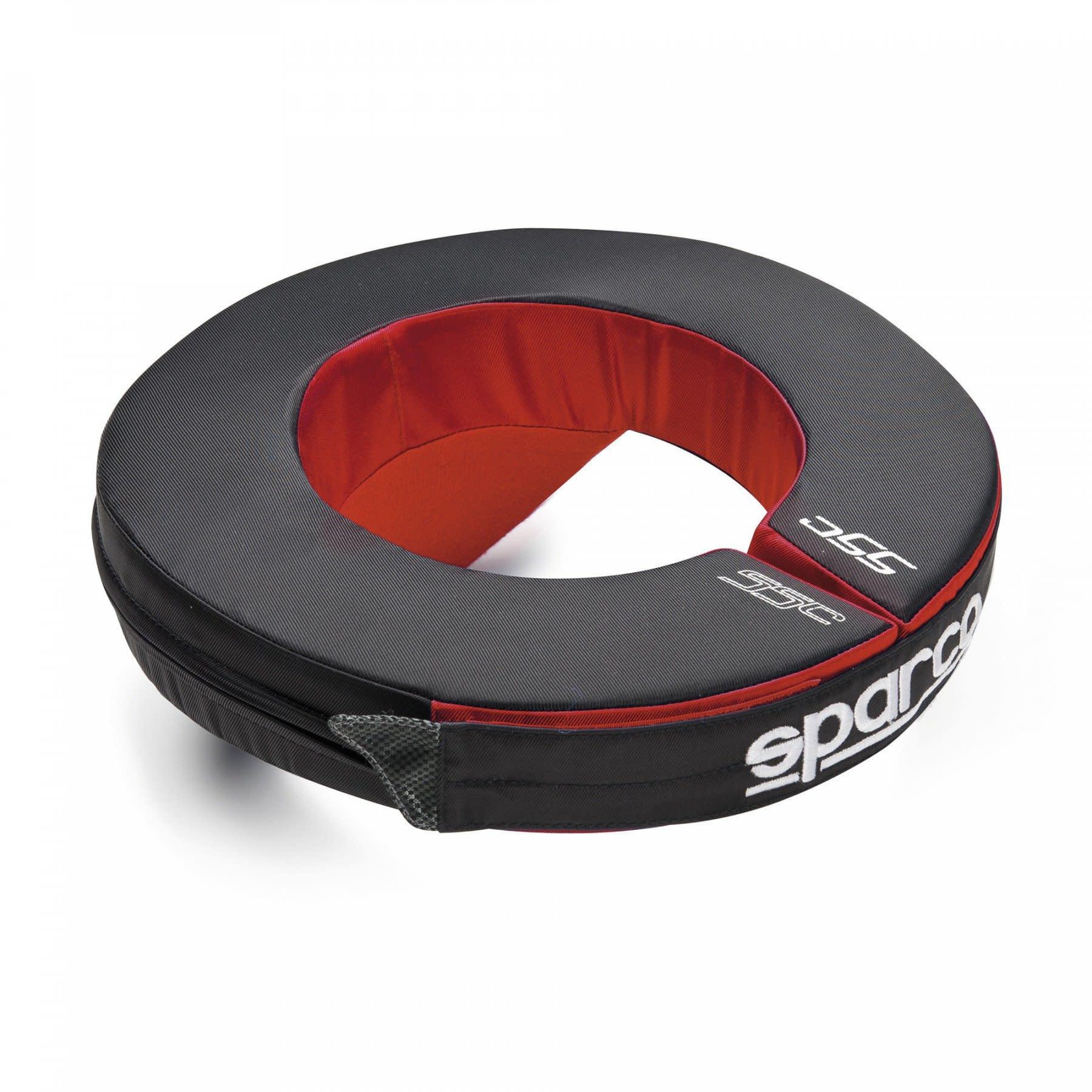 Sparco Nek bescherming Zwart Rood