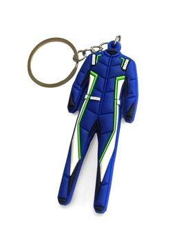 Sparco Porte-clés Sparco combinaison Bleu