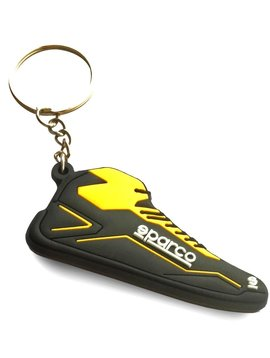 Sparco Porte-clés Sparco chaussure Noir jaune