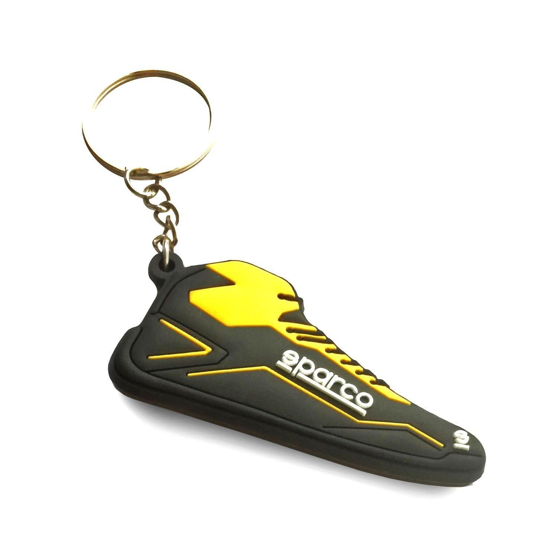 Sparco Schlüsselanhänger Sparco schuh Schwarz Gelb