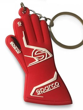 Sparco Keychain Sparco glove red