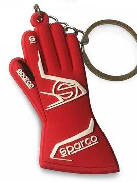 Sparco Porte-clés Sparco gants Rouge