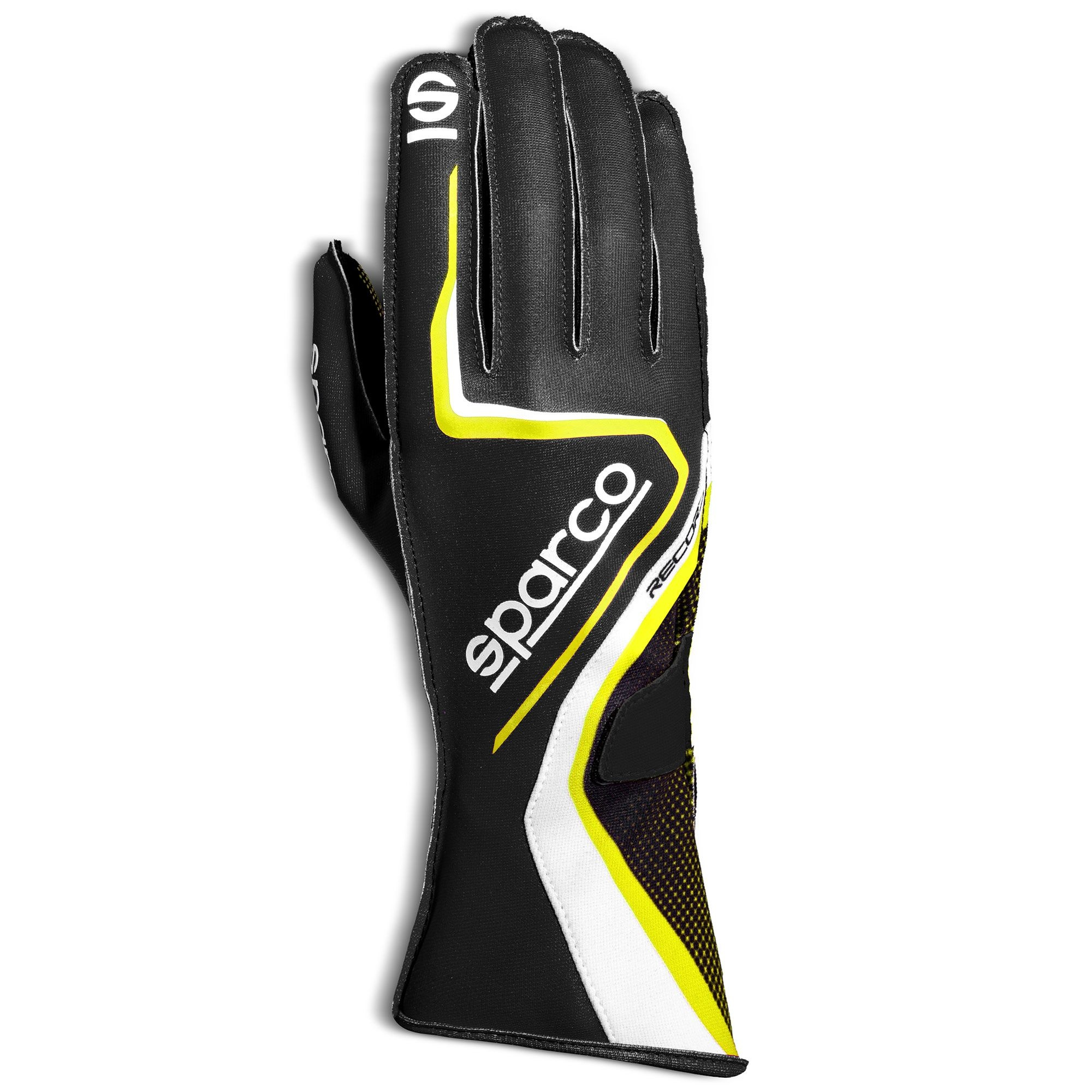 Sparco Record - Black Yellow