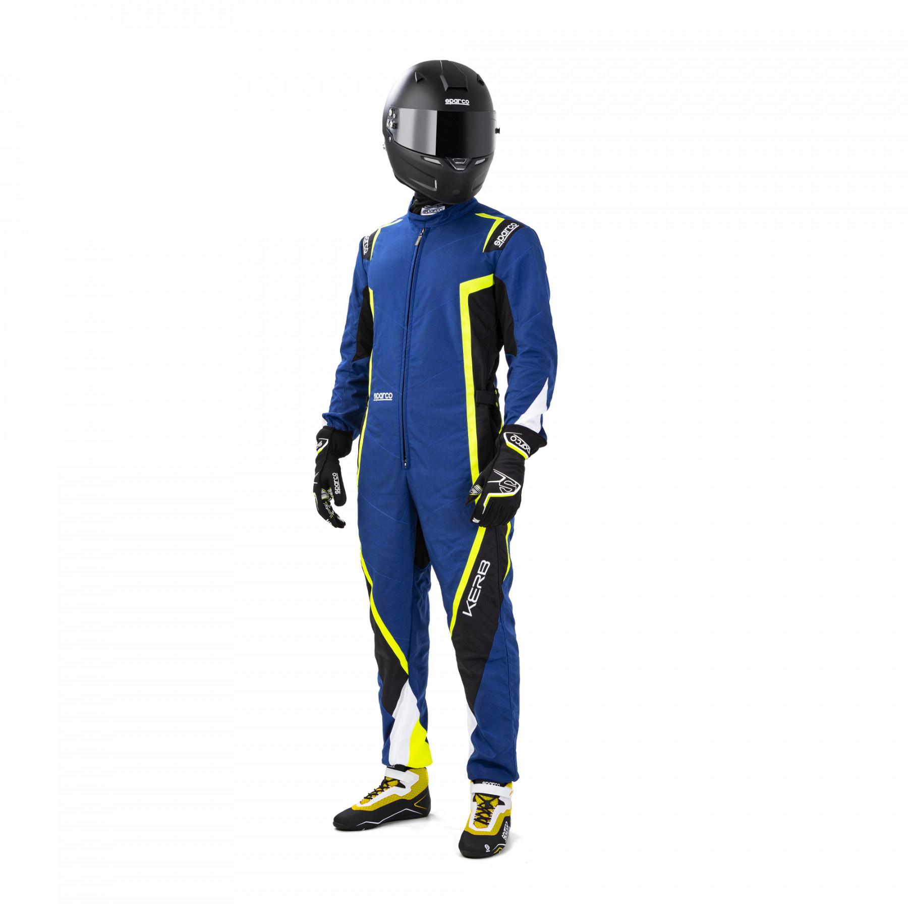 Sparco Kerb Bleu Noir jaune