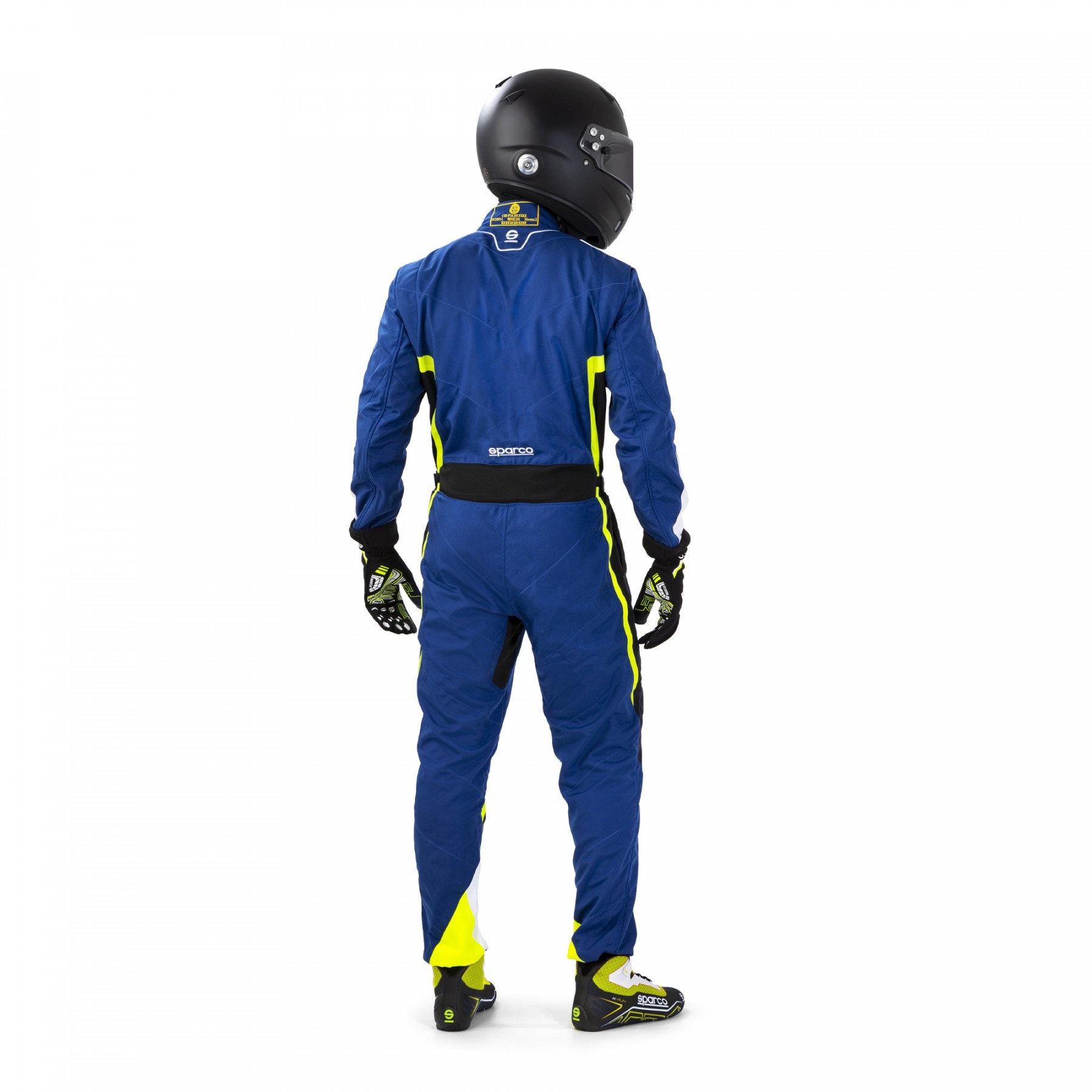 Sparco Kerb Blau Schwarz Gelb