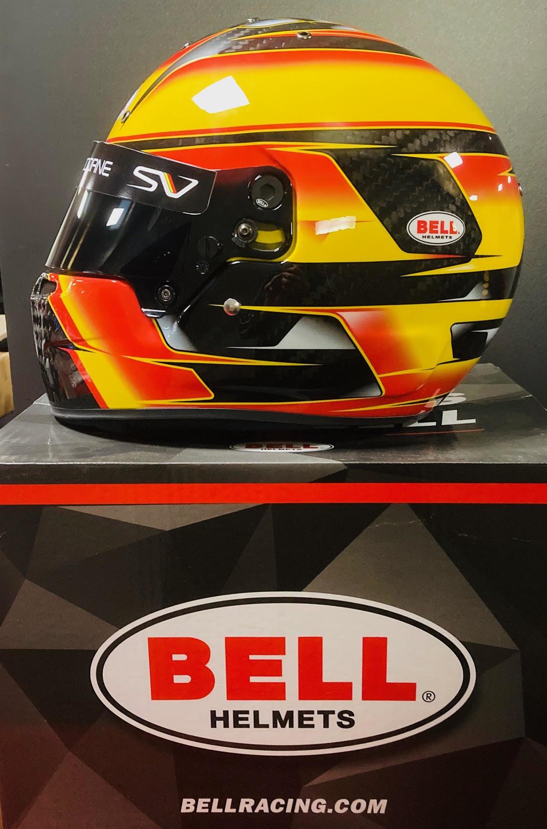 Bell Helmets F1 Replica Helme 1:1 Stoffel Vandoorne 2018