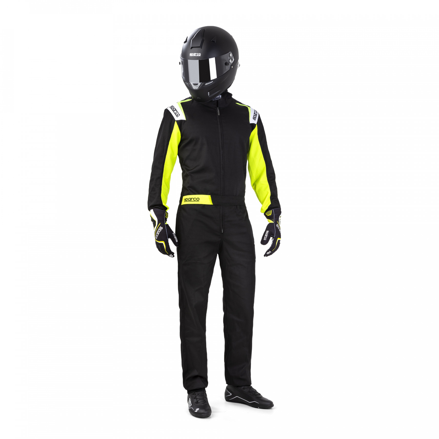 Sparco Rookie Black Yellow