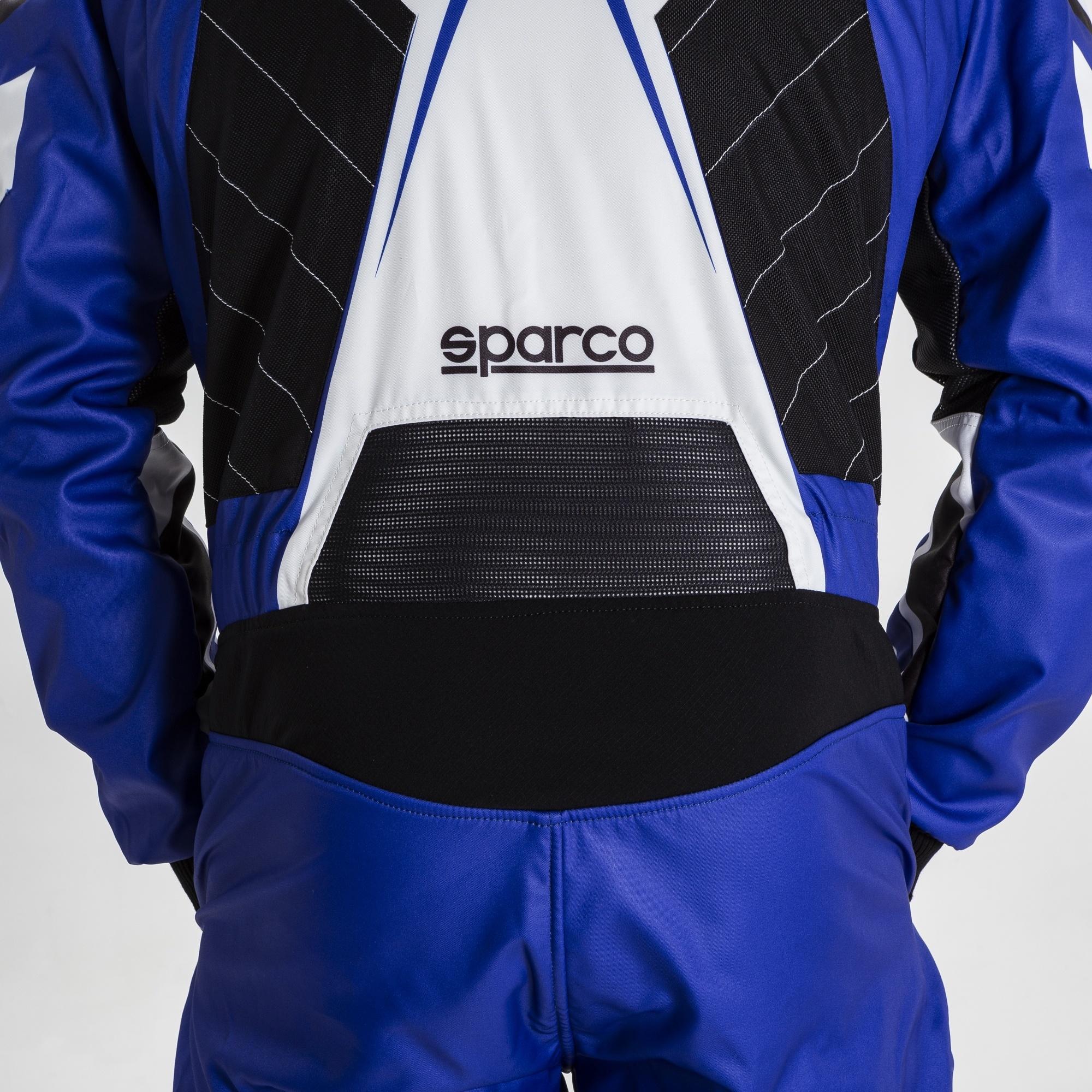 Sparco Prime K Blauw Wit Zwart