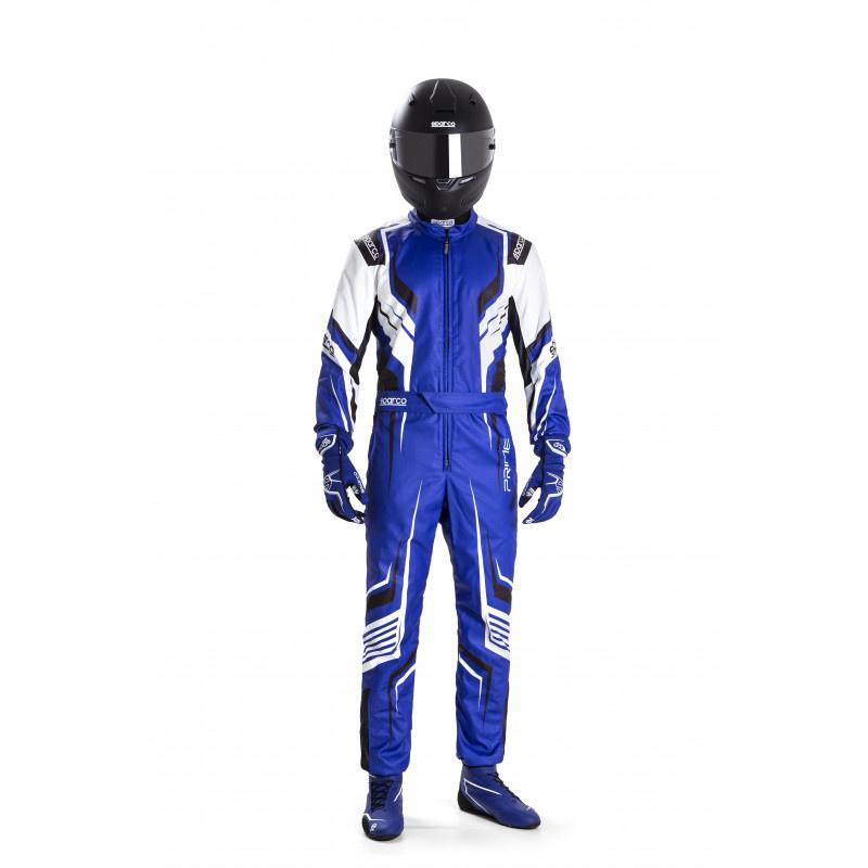 Sparco Prime K Kid Bleu Blanc Noir