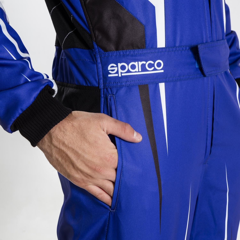Sparco Prime K Kid Blauw Wit Zwart