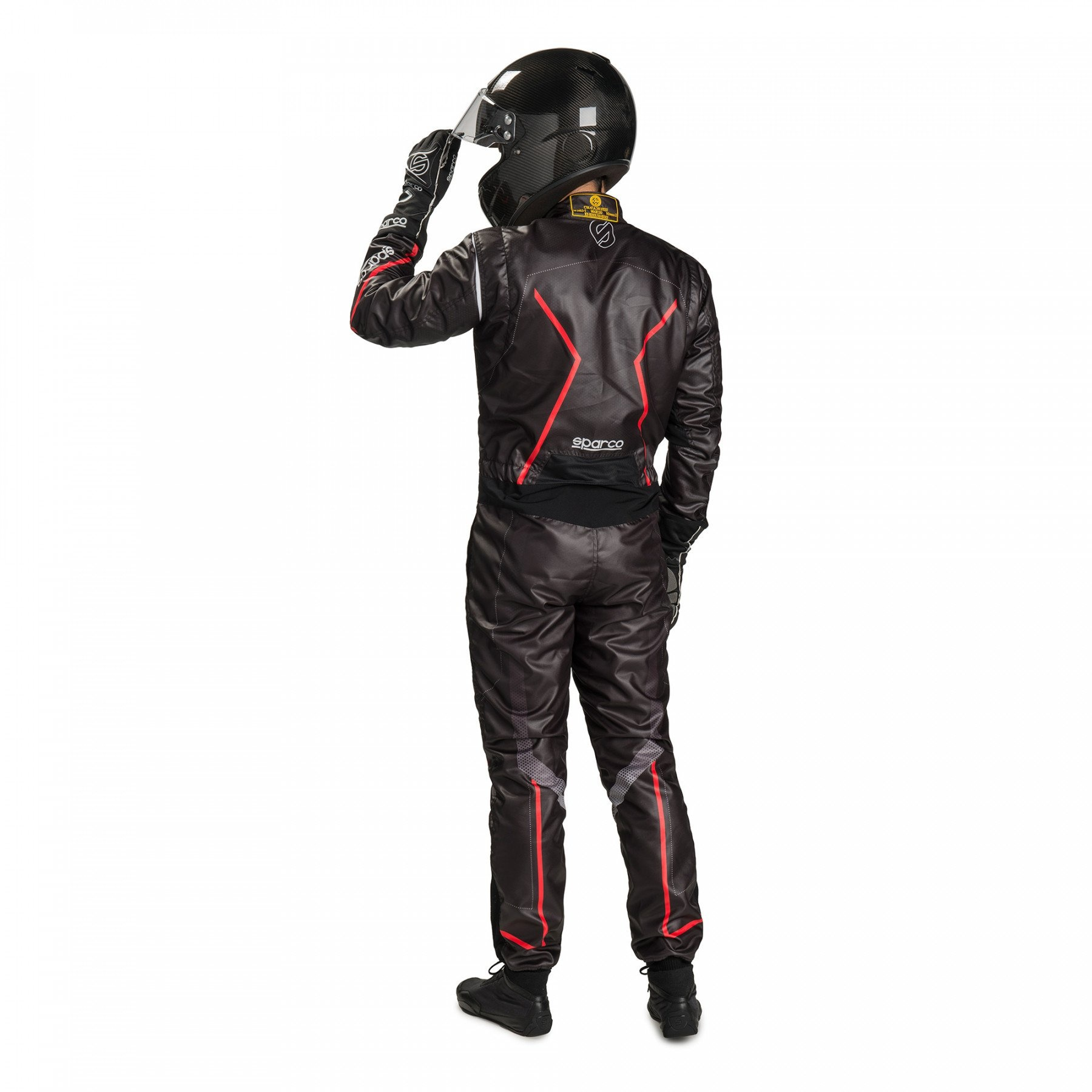 Sparco Prime KS-10 Zwart Rood Wit