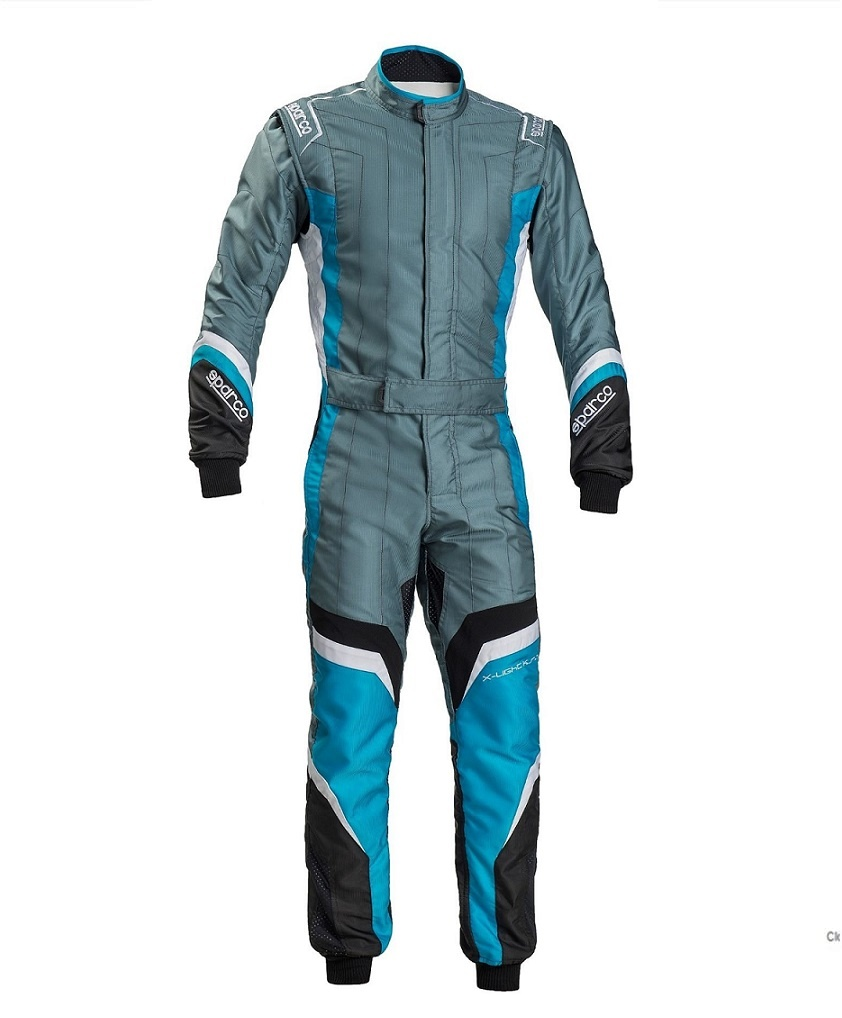 Sparco X-Light KS-7 Grau Light Blau Schwarz