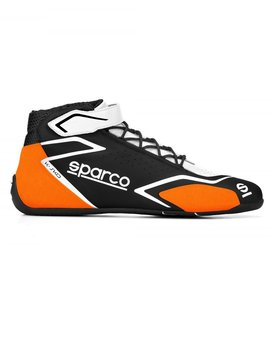 Sparco K-Skid Schwarz Orange