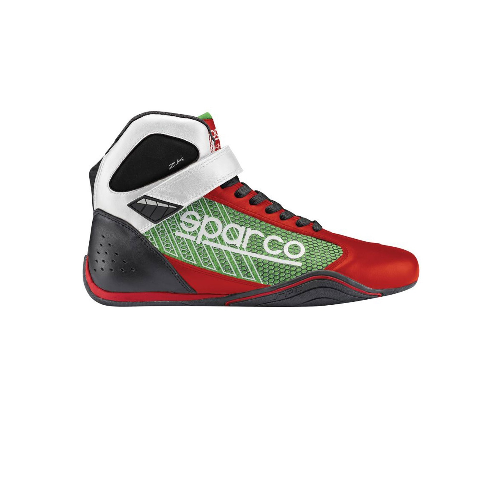 Sparco Omega KB-6 Rot Grün
