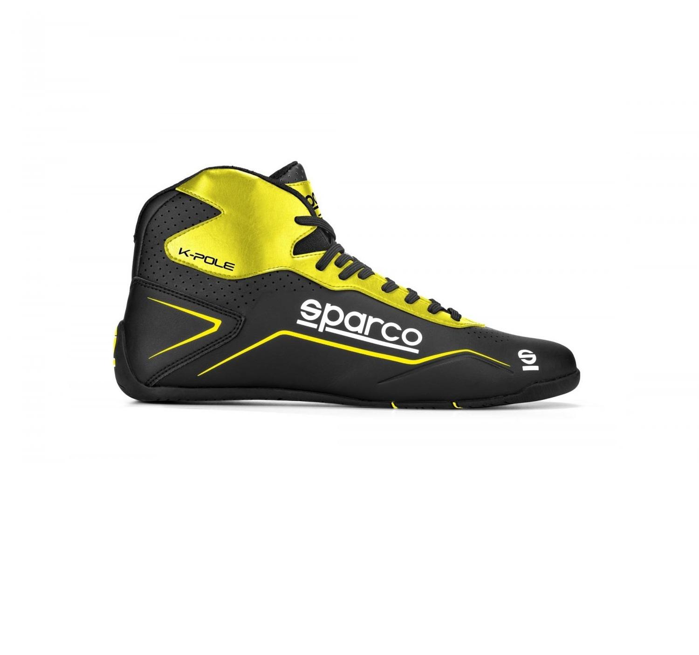 Sparco K-Pole Black Yellow Fluo