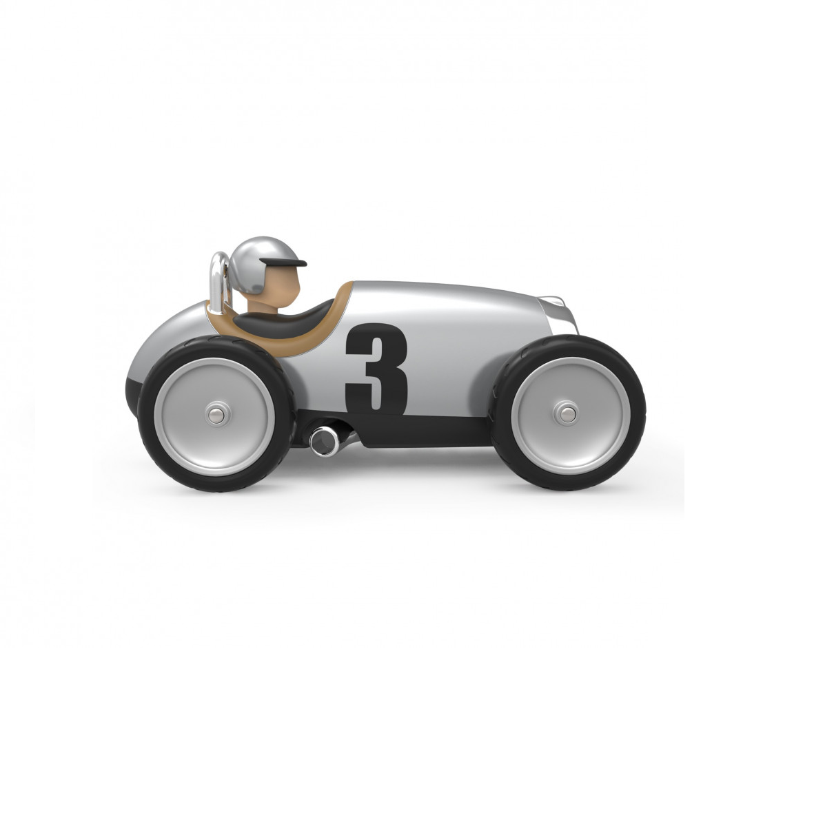 Baghera Racing Car Zilver