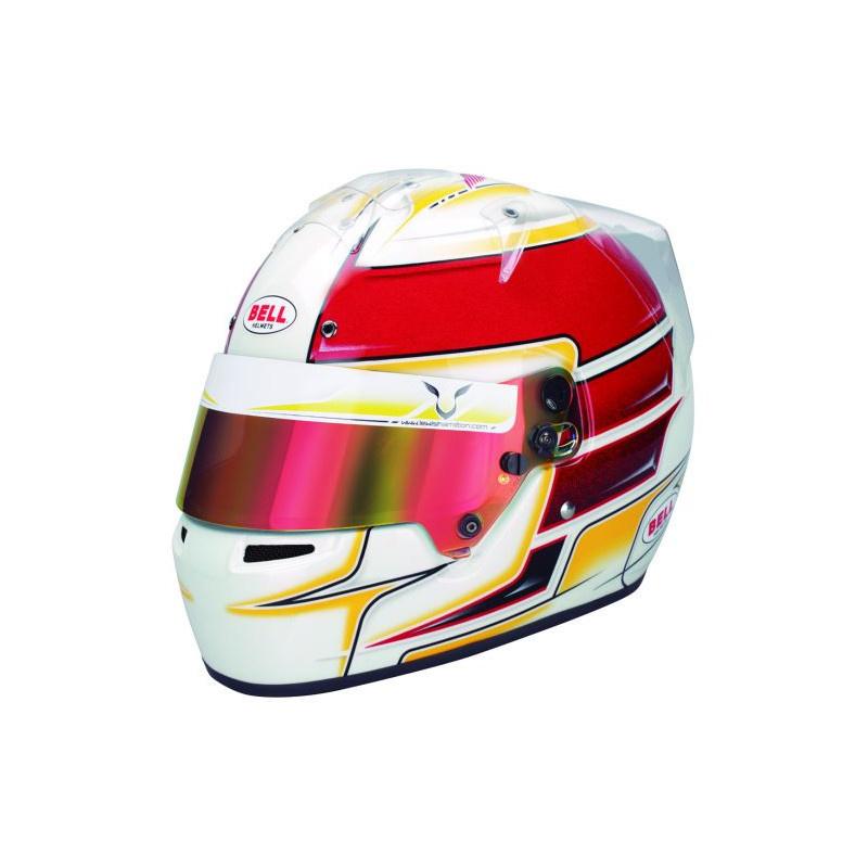 Bell Helmets KC7-CMR Lewis Hamilton Helm