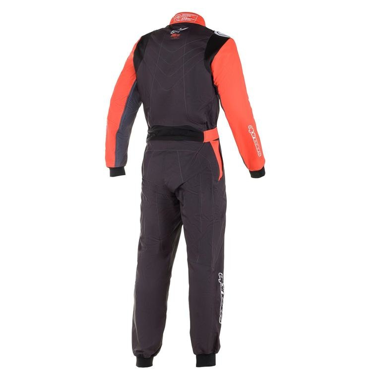 Alpinestars KMX-9 V2 Graph Junior Zwart Rood Wit