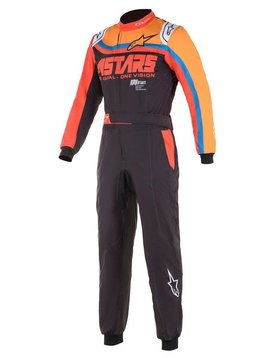 Alpinestars KMX-9 V2 Graph Schwarz Orange Rot