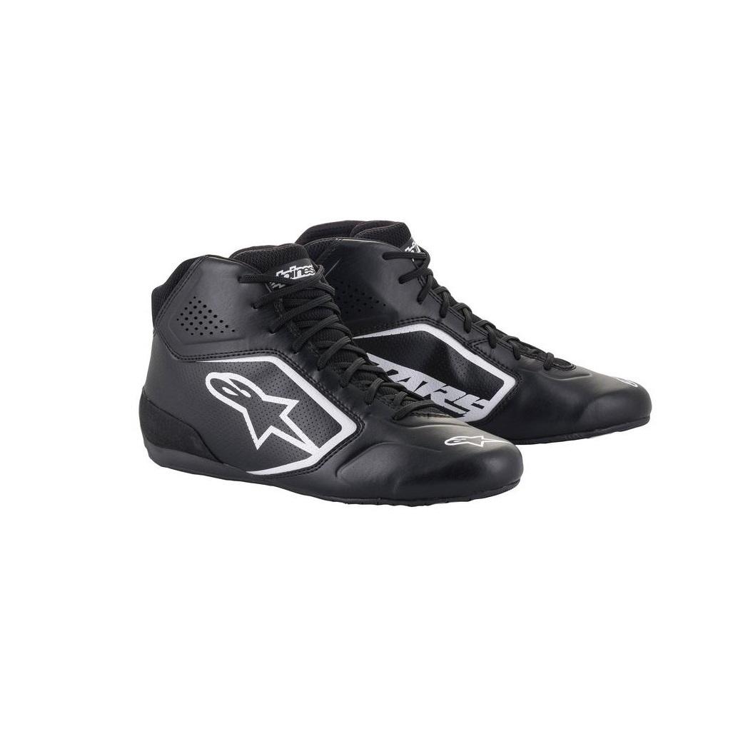 Alpinestars Tech-1 K Start v2 Shoe Zwart Wit