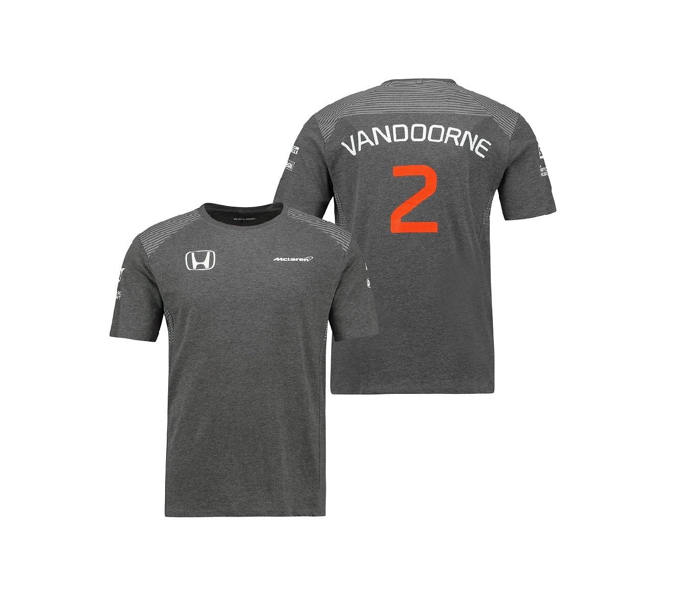 McLaren Mann - Stoffel Vandoorne T-shirt 2017
