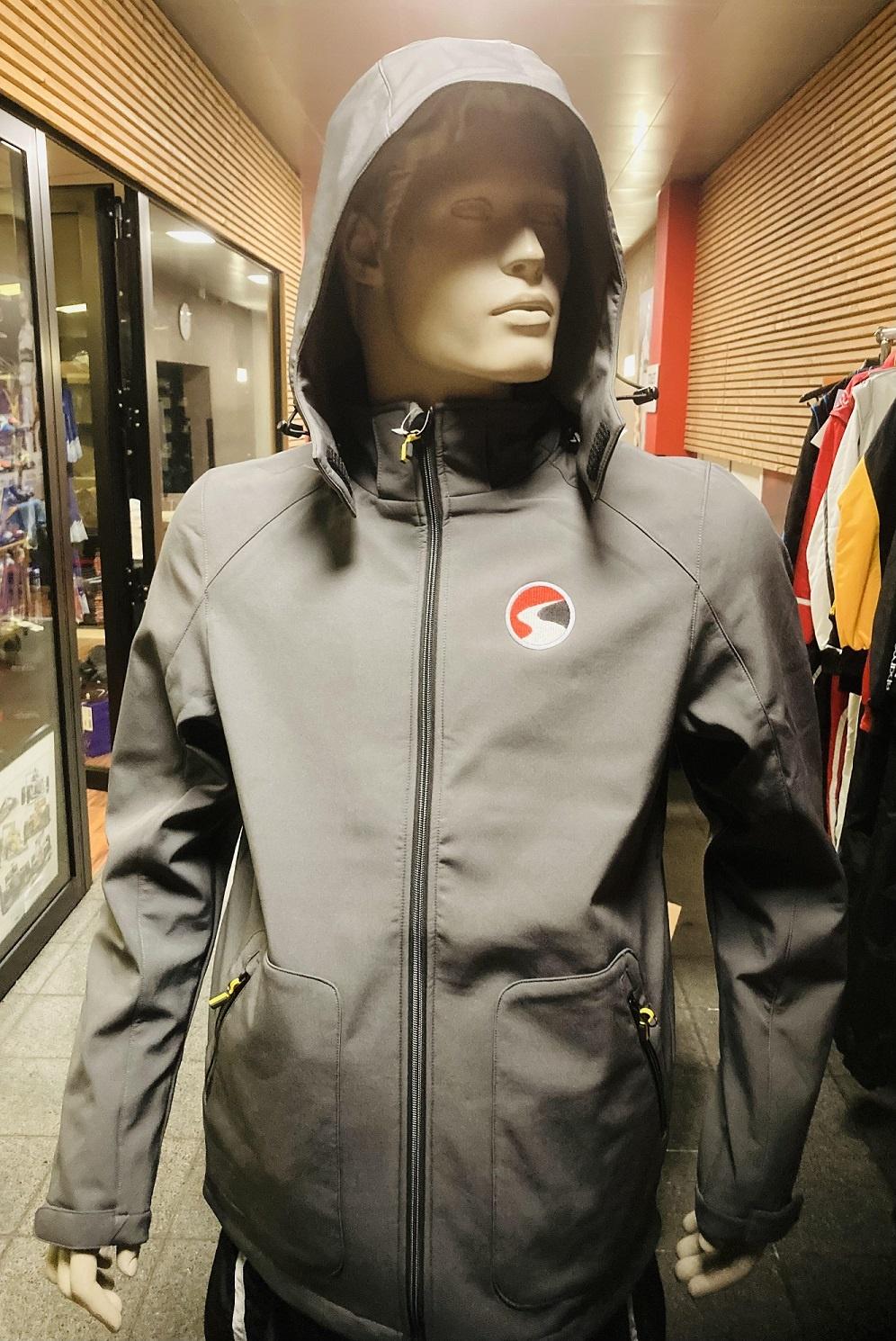 Worldkarts Softshell jacket Worldkarts with removable hood Grey