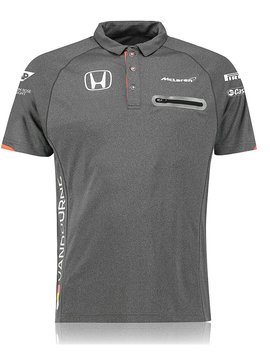 McLaren Polo Official Stoffel Vandoorne Gris