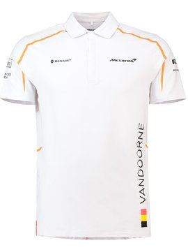 McLaren Polo Official Stoffel Vandoorne Blanc