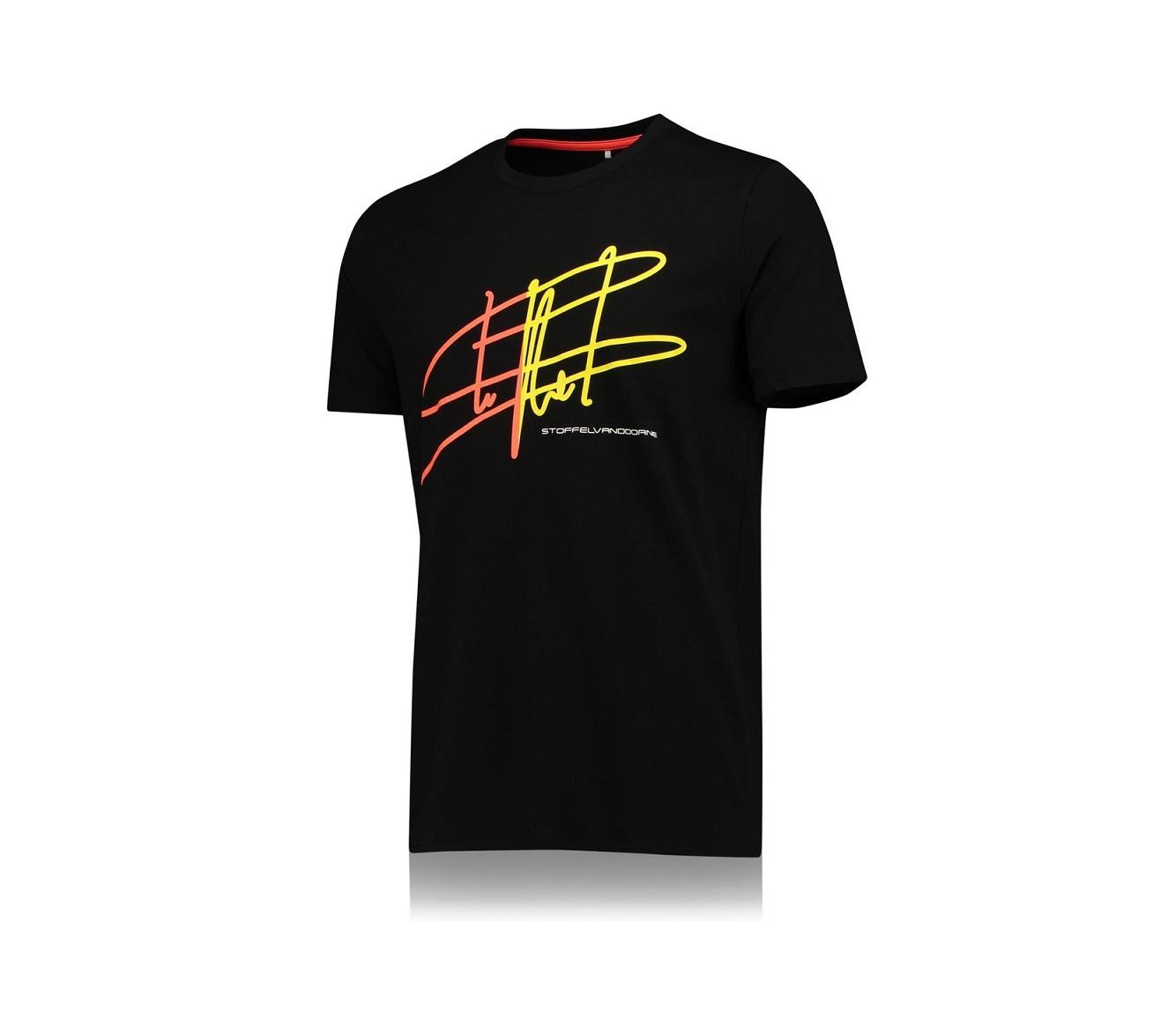 "McLaren T-Shirt ""Big Signature"" Black"