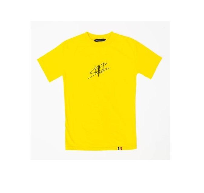 SV Merchandising T-Shirt SV Signature Geel