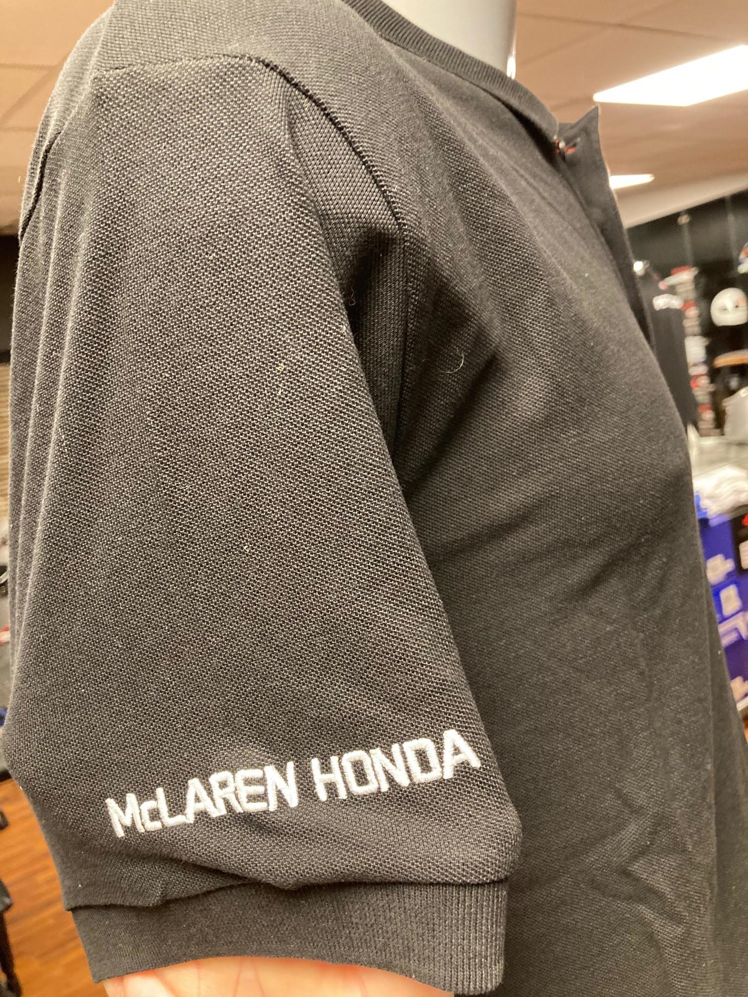 "McLaren Polo ""STOFF 2"" Zwart"
