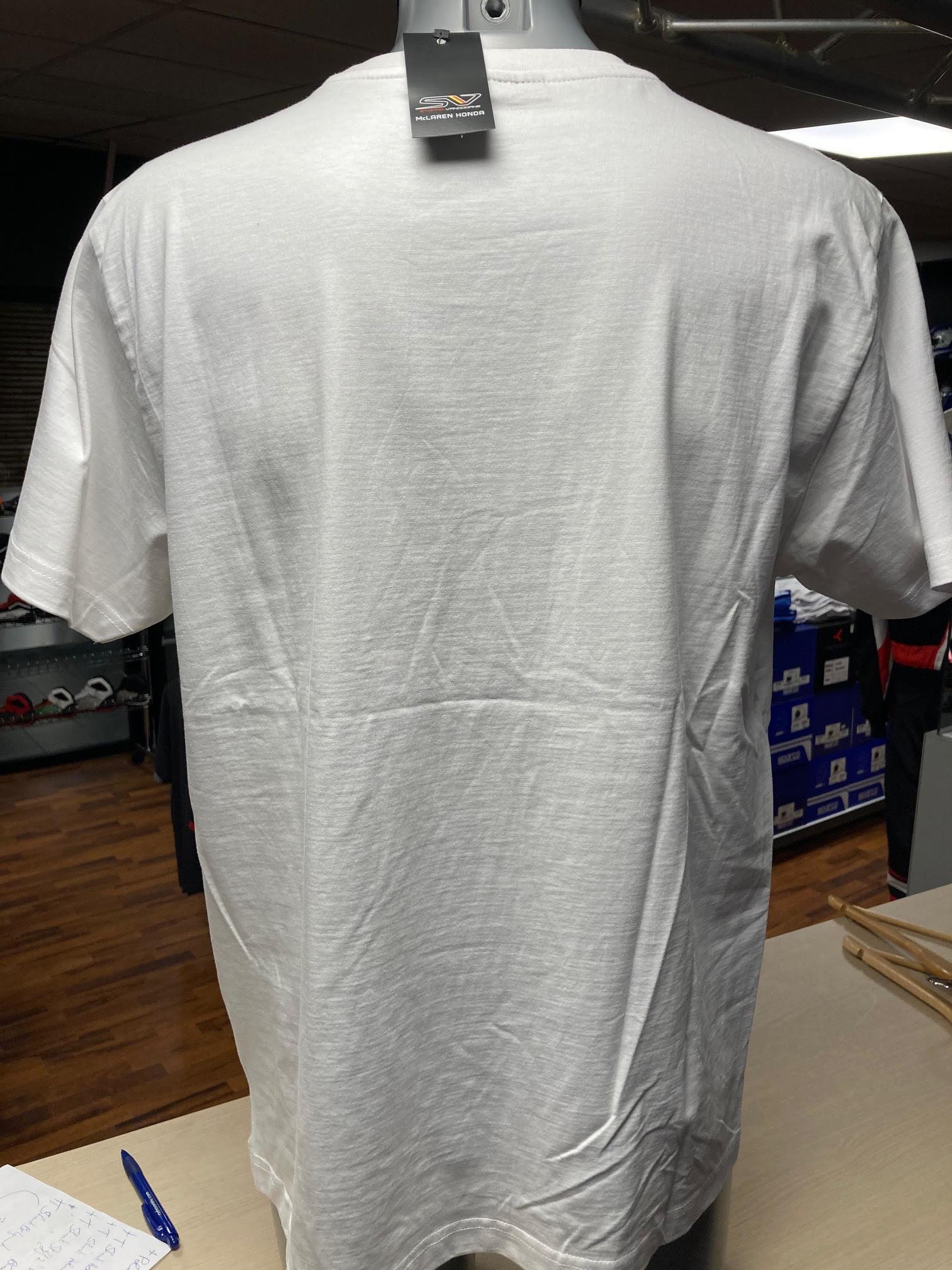 """McLaren T-Shirt """"Helmet"""" White Men"""
