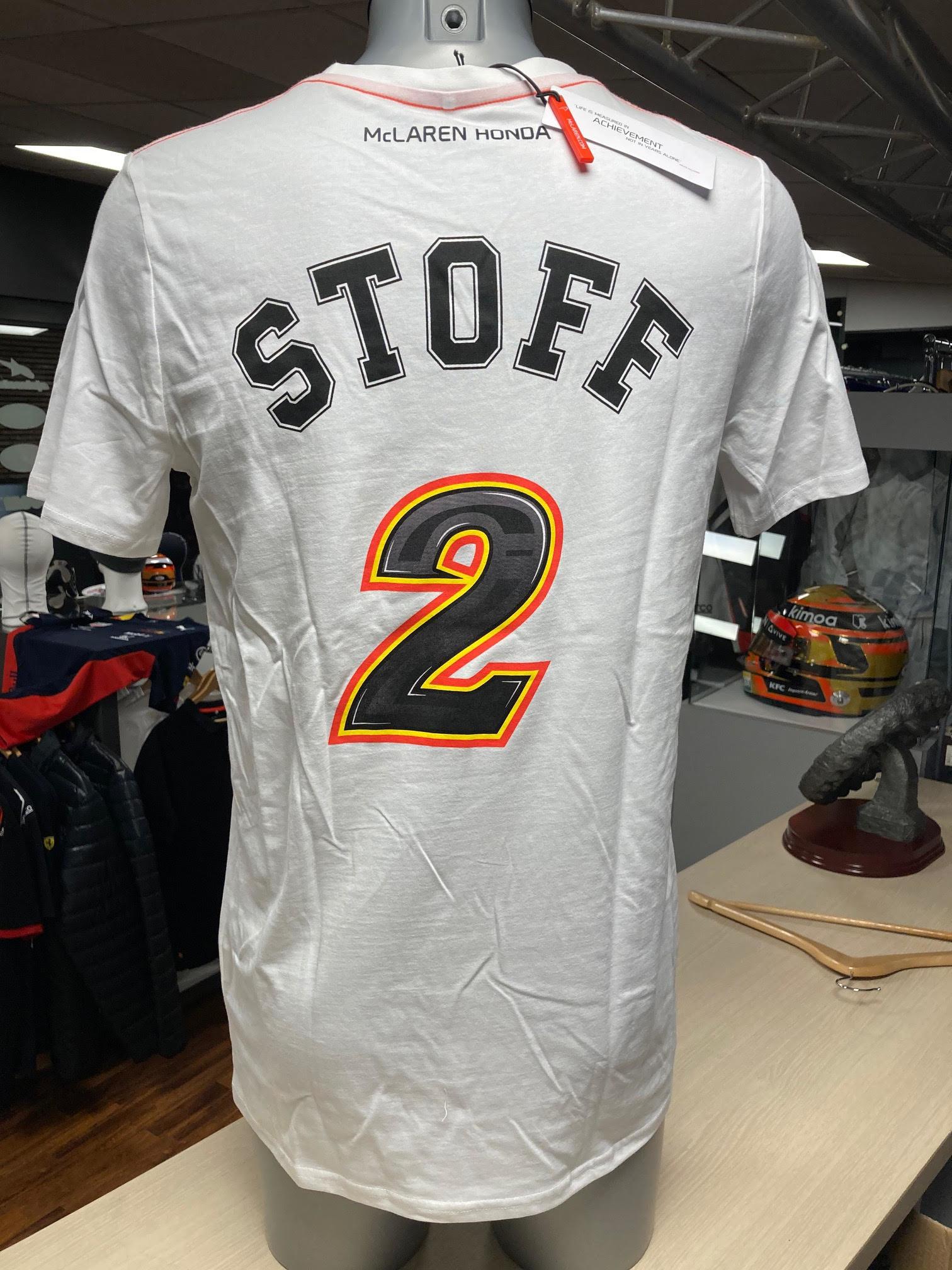 "McLaren T-Shirt ""STOFF 2"" White"