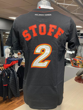"McLaren T-Shirt ""STOFF 2"" Schwarz"