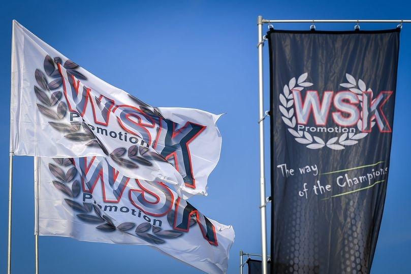 Die WSK-Bekleidung wird von Sparco® produziert, die für die Saison 2021 als WSK-Promotion-Partner zurückkehren!