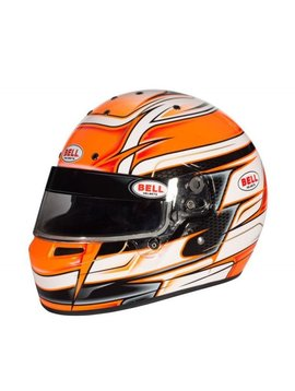 Bell Helmets KC7-CMR Venom Orange Helme