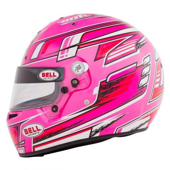 Bell Helmets KC7 CMR Champion Rose