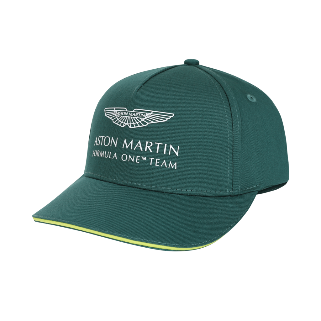 Aston Martin Team Cap - Green - Adult - 2021