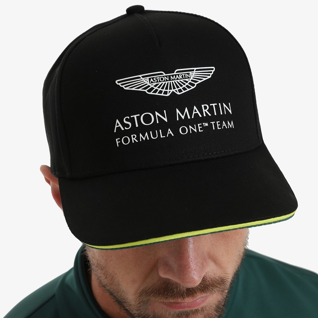 Aston Martin Team Cap - Black - Adult - 2021