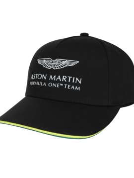 Aston Martin Team Cap - Black - Adult - 2021