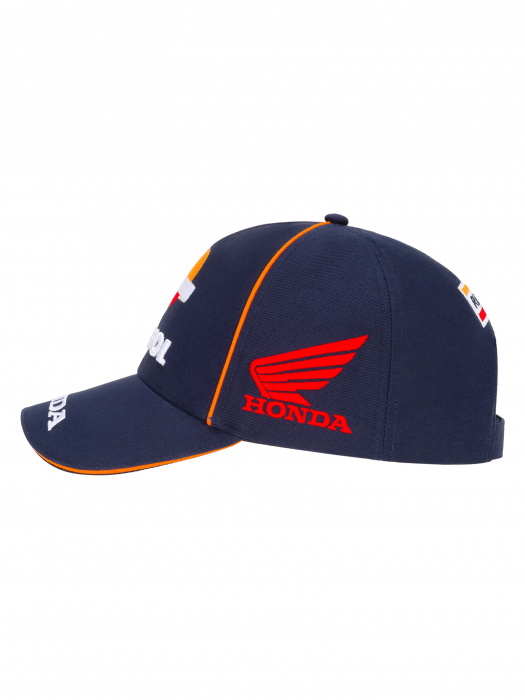 Honda Mens Baseball Cap Repsol Sun Blue