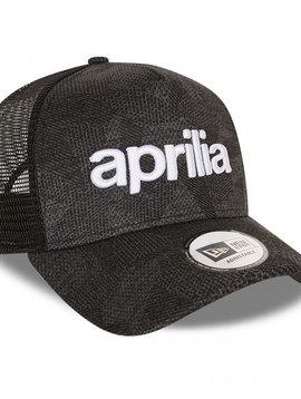 Aprilia New Era A-Frame Trucker Wordmark Cap