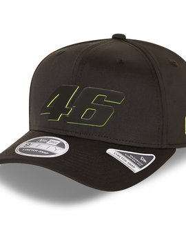 VR46 Casquette FW Poly 9 fifty stretch noir