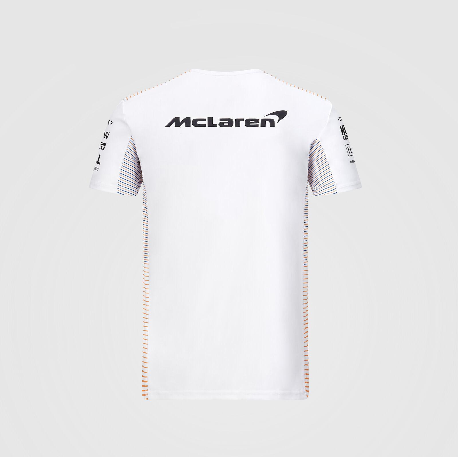 McLaren Team T-Shirt 2020  Wit