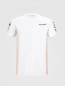 McLaren Team T-Shirt 2020  Blanc