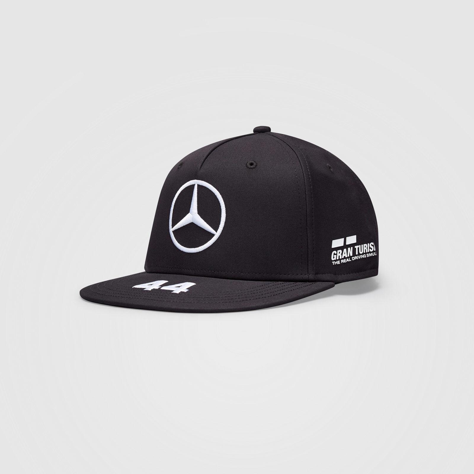 Mercedes Cap Hamilton (Flat) 2021 - Black