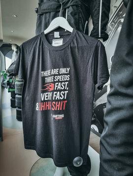 Karting Eupen T-Shirt - 3 Speeds Schwarz