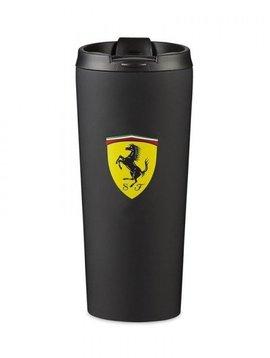Ferrari Thermos Becher - Matt Schwarz