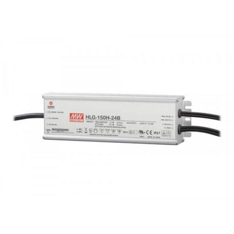 Lucente Meanwell Leddriver 150W 24V IP67 dimbaar